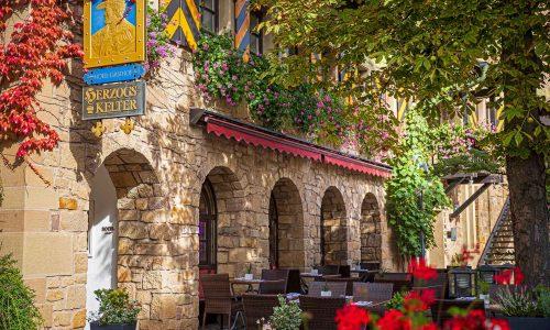 hotel-herzogskelter-haus-terrasse-auslage